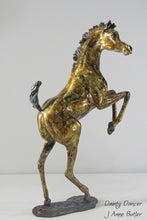 Load image into Gallery viewer, Foal statue in bronze