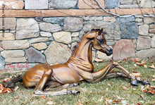 "Load image into Gallery viewer, ""Hope""  Life size Bronze Foal Sculpture."
