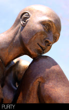 "Load image into Gallery viewer, "" Purity "" Figurative Bronze Sculpture.     20"" high."