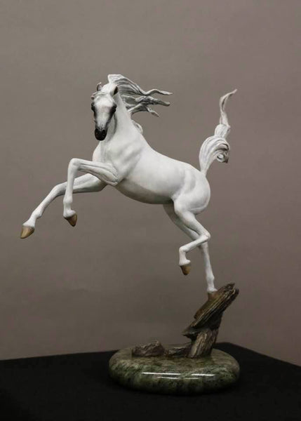 """Sunshine Dancer"" Equine Bronze Sculpture.           16"" high."