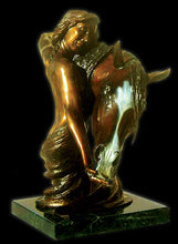 "Load image into Gallery viewer, "" To Love & Cherish"" Bronze Sculpture."