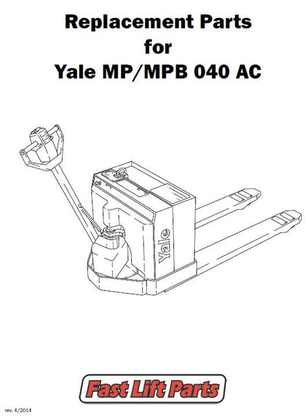125 000 Yale Parts Yale Lift Truck Replacement Parts