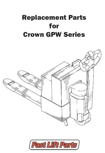 Crown GWP Electric Lift Truck Parts