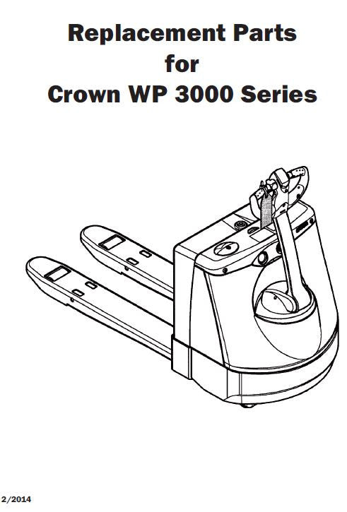 *Crown WP 3000 Series Catalog