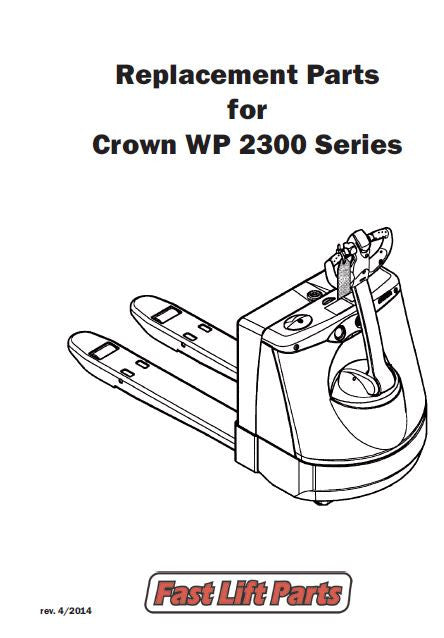 *Crown WP 2300 Series Catalog