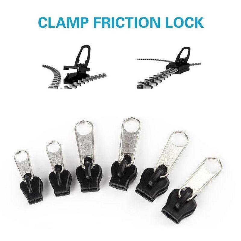 Instant Zipper ( 6 Pcs )