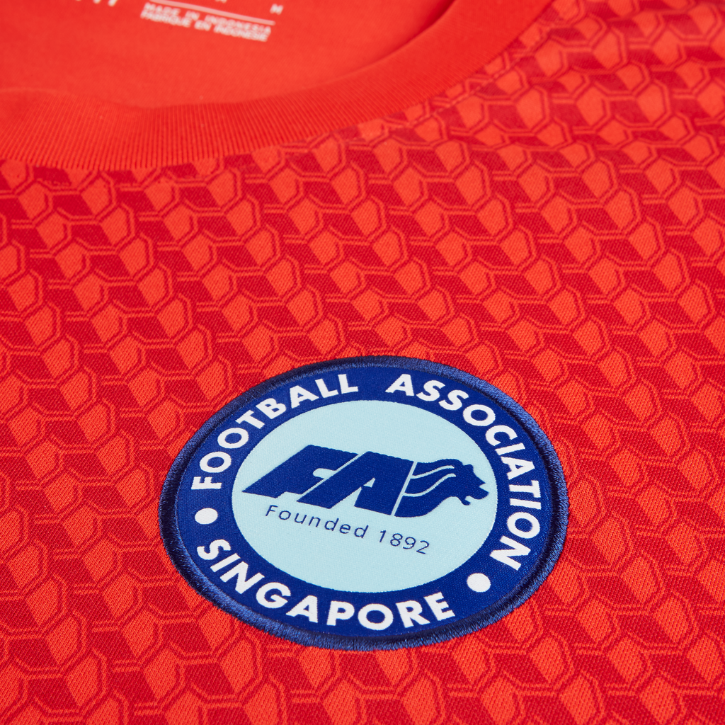 Singapore National Team 2020 Home Jersey Crest