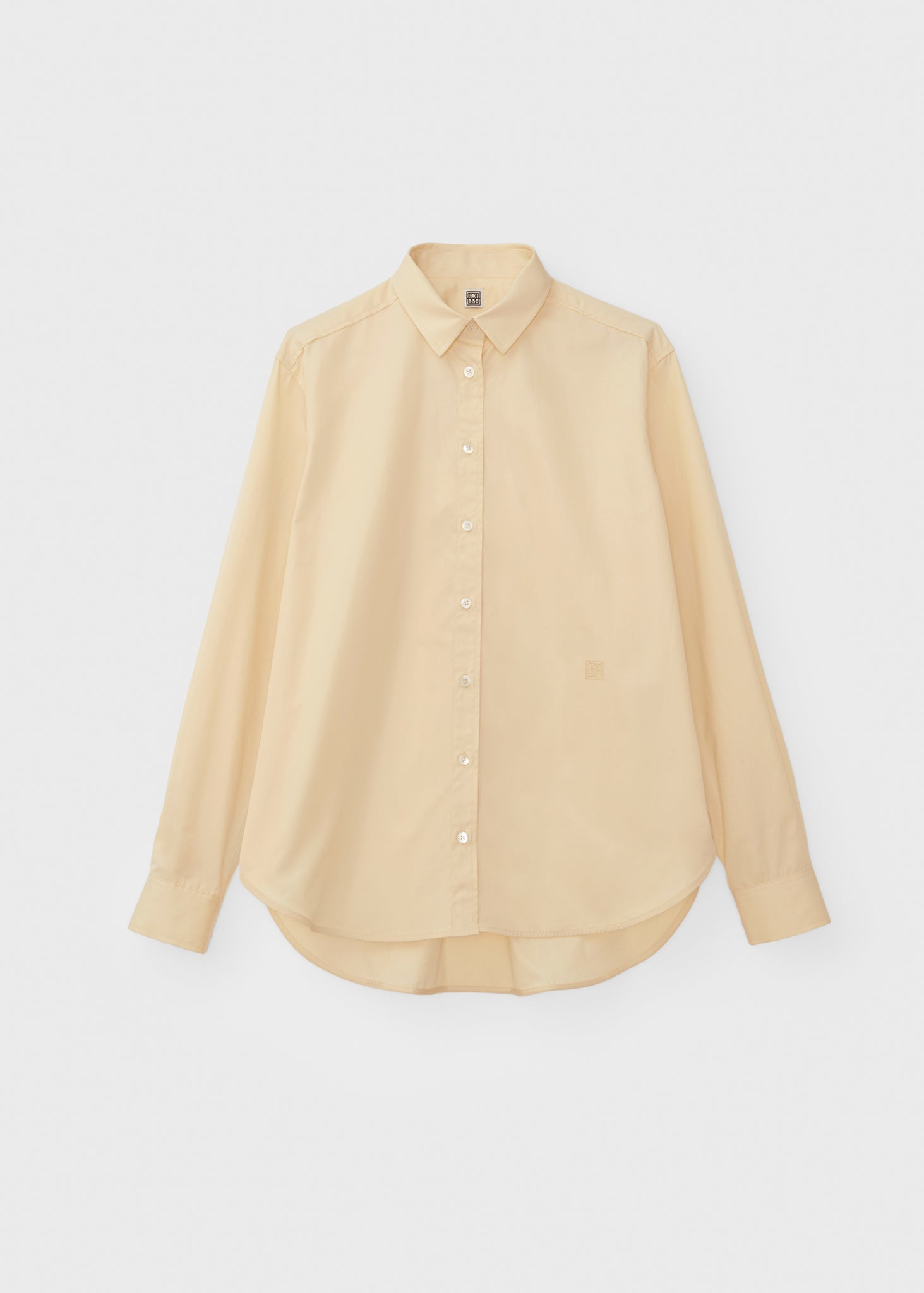 Signature cotton shirt creme