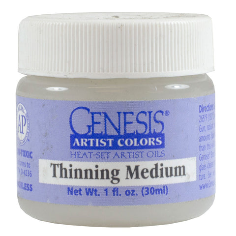 Thinning Medium for Paint by Numbers