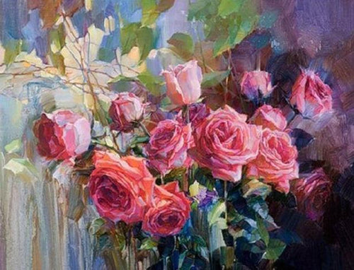 Bunch of Roses - Paint by Numbers