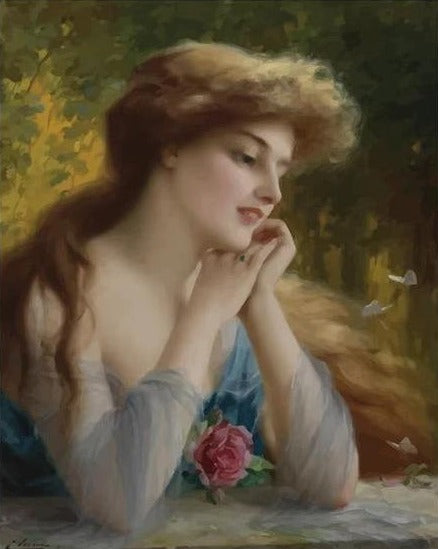 Butterflies of Love - Emile Vernon - Painting Kit