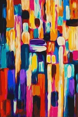 Abstract Art Paint by Numbers