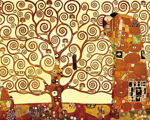Gustav Klimt Vienna Secession - Tree Of Life Paint By Number