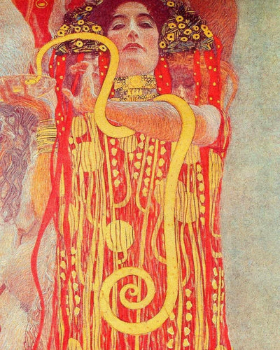 Hygeia - Gustav Klimt - Paint By Number Art