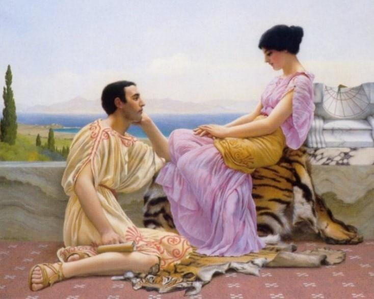 John William Godward - Youth And Time - Paint By Number