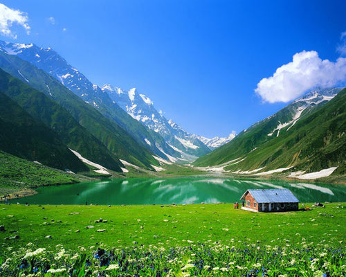 Kaghan Valley Breath Taking View - Paint By Number