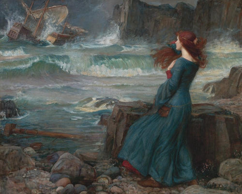 Miranda - The Tempest - John William - Paint By Number