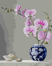 Load image into Gallery viewer, Orchids Paint by Numbers Kit