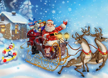 Load image into Gallery viewer, Santa Express - Painting Kit