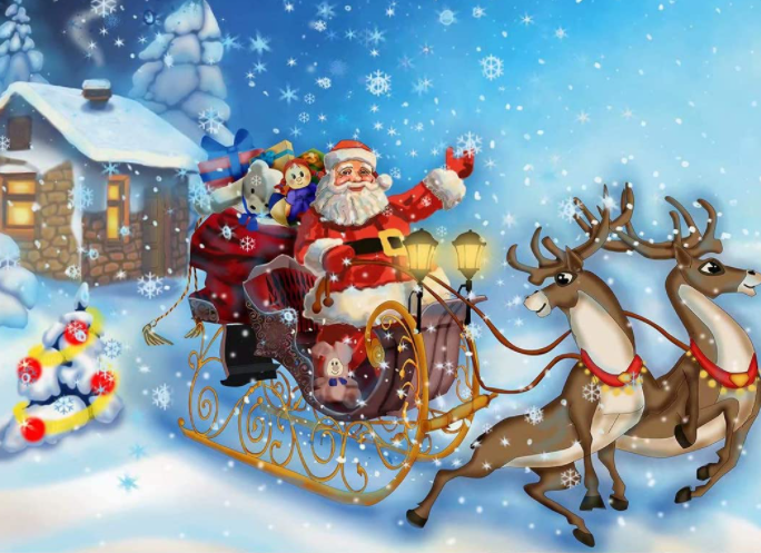 Santa Express - Painting Kit