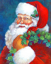 Load image into Gallery viewer, Santa Stops Here - Painting Kit