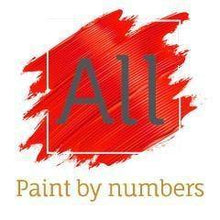 "Load image into Gallery viewer, ""Abstract Deer"" Easy Paint by Numbers Kit - All Paint by numbers"
