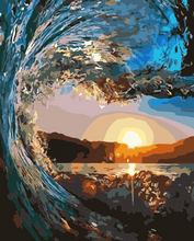Load image into Gallery viewer, The Wave Paint by Numbers Kit