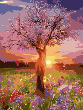Load image into Gallery viewer, Tree Lady Paint by Numbers
