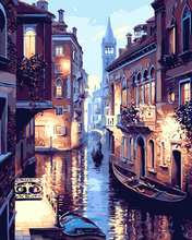 Load image into Gallery viewer, Venice Night DIY Painting Kit