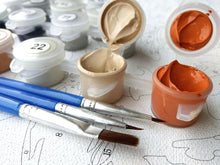 Load image into Gallery viewer, Beautiful Flowers Painting by Numbers Kit - All Paint by numbers