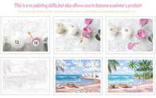 Load image into Gallery viewer, Pink White Flower DIY Painting By Numbers - A Unique Gift - All Paint by numbers