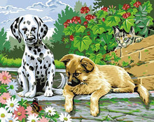 Load image into Gallery viewer, 24 Dogs, Tigers and Other Animals Paintings - All Paint by numbers