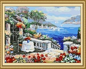 24 Flowers, Landscape Paintings (Framed and Unframed) - All Paint by numbers