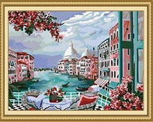 Load image into Gallery viewer, 24 Flowers, Landscape Paintings (Framed and Unframed) - All Paint by numbers