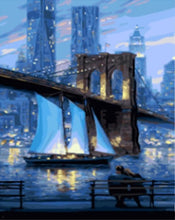 Load image into Gallery viewer, new york paint by numbers