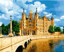Load image into Gallery viewer, SCHWERIN PALACE Landscape - All Paint by numbers