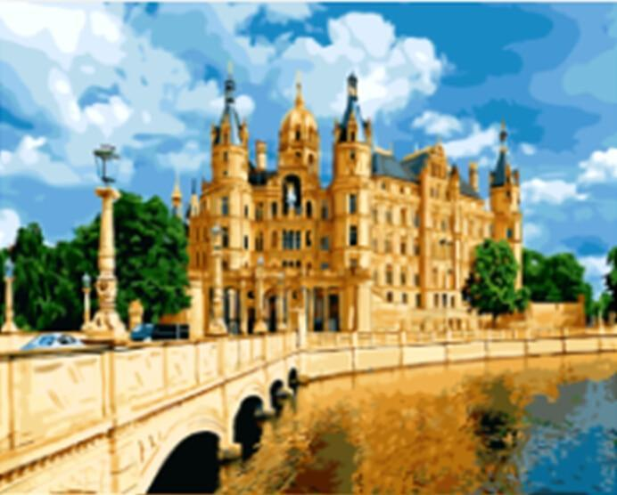 SCHWERIN PALACE Landscape - All Paint by numbers