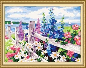 22+ Framed and Unframed FLORAL Paintings - GIFT A FRIEND - All Paint by numbers