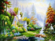 Load image into Gallery viewer, 24 Framed Beautiful Colorful Paintings - All Paint by numbers