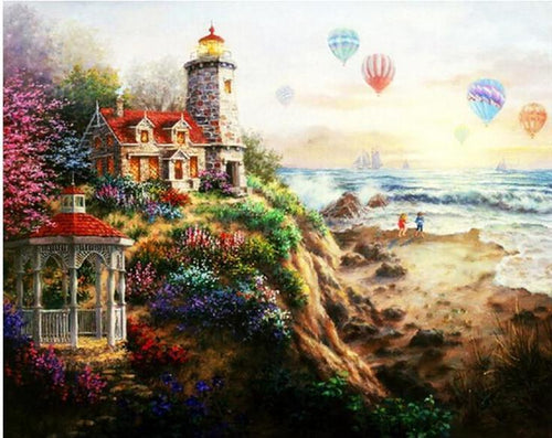Nicky Boehme Canvas Painting - All Paint by numbers