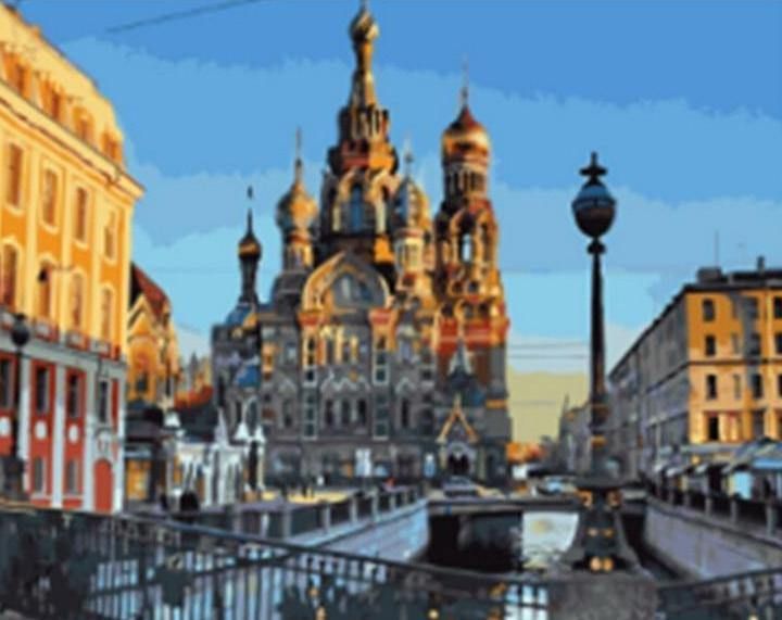 Church of the Savior on Blood Painting Kit - All Paint by Numbers