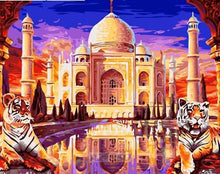 Load image into Gallery viewer, Taj Mahal Paint By Numbers Kit - All Paint by numbers