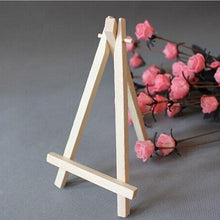 Load image into Gallery viewer, Miniature Wooden Easel 16x9cm