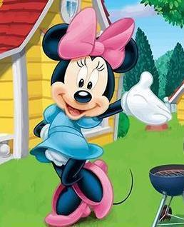 Pink Mickey Mouse Paint By Numbers Kit - All Paint by numbers