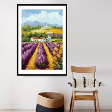 Load image into Gallery viewer, Farm House and Purple Farm - All Paint by numbers