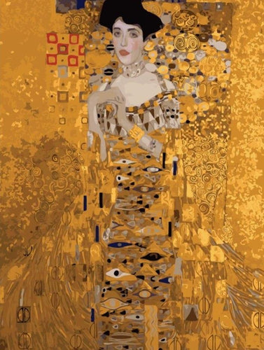 Maria Altmann Klimt Painting - All Paint by numbers