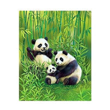 Load image into Gallery viewer, A Panda Family - All Paint by numbers