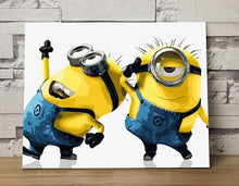Load image into Gallery viewer, Minions Paint By Numbers Kit - All Paint by numbers