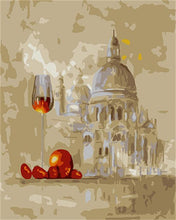 Load image into Gallery viewer, A Landscape with a  Wine Glass - All Paint by numbers