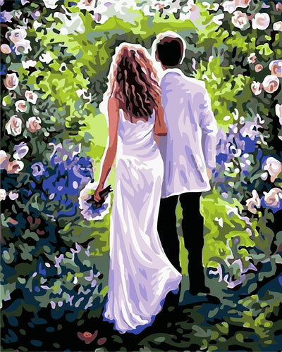 wedding paint by numbers